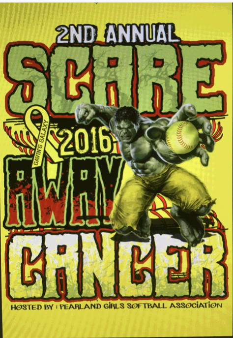 2nd Annual Scare Away Cancer Shirt Design 2016