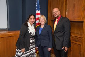 Meeting with Senator Patty Murray on March 23, 2017 in Washington, DC.