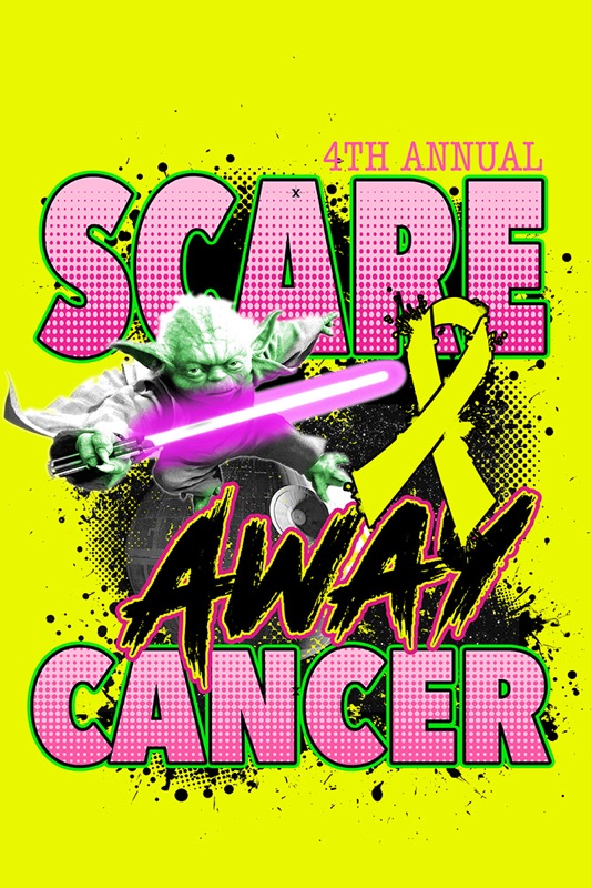 4th SCARE CANCER Shirt